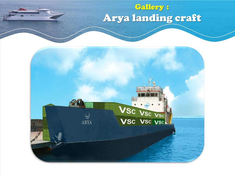 Gallery : Arya landing craft
