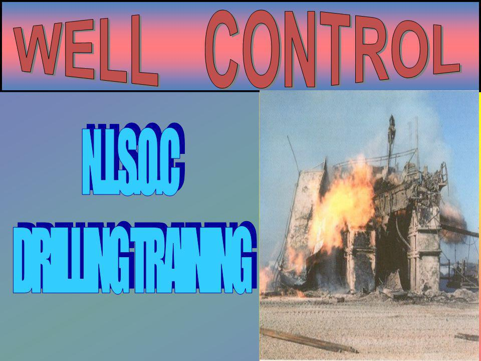 WELL CONTROL N.I.S.O.C DRILLING TRAINING
