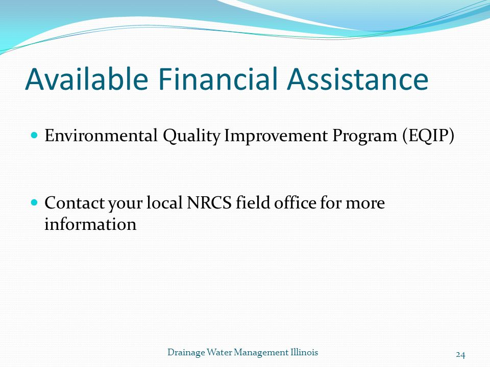 Available Financial Assistance