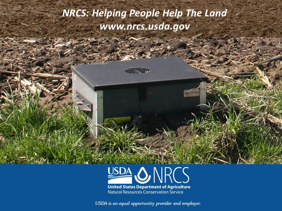 NRCS: Helping People Help The Land