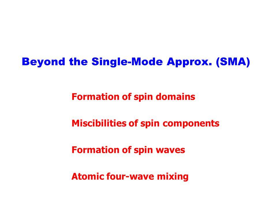Beyond the Single-Mode Approx. (SMA)