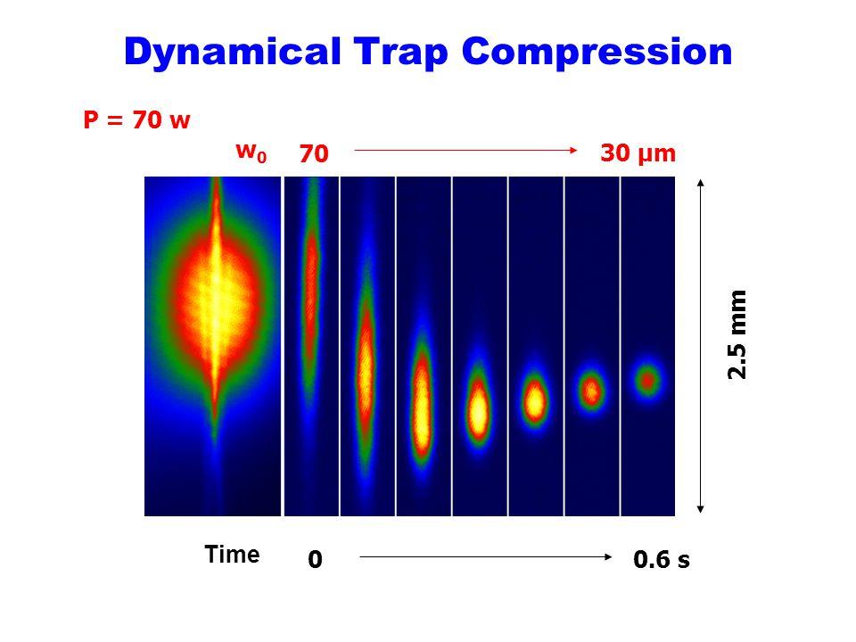 Dynamical Trap Compression