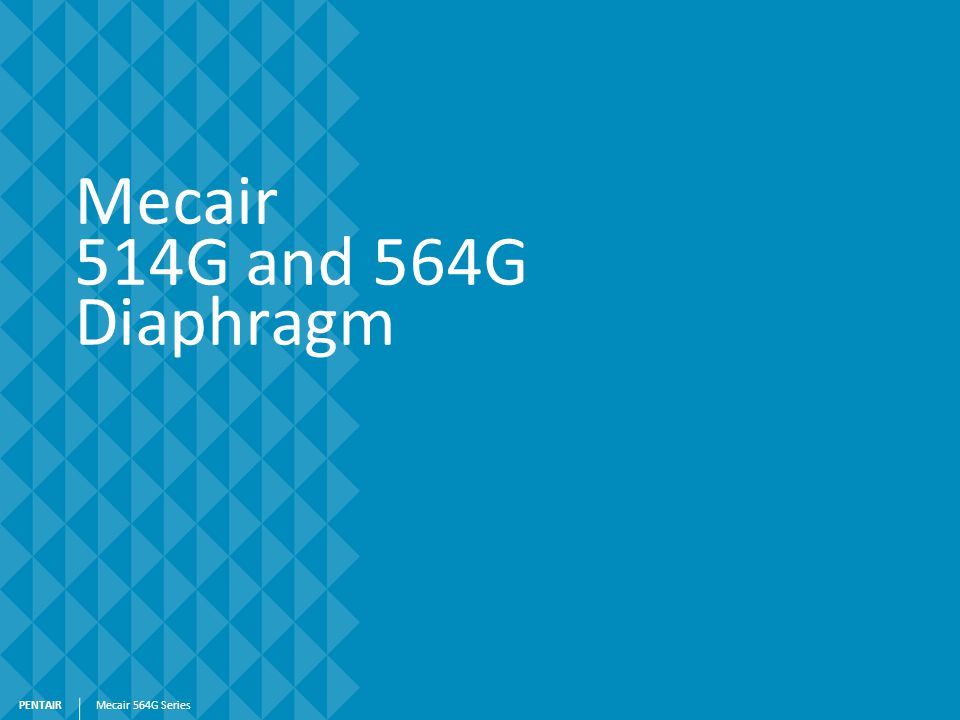 Mecair 514G and 564G Diaphragm