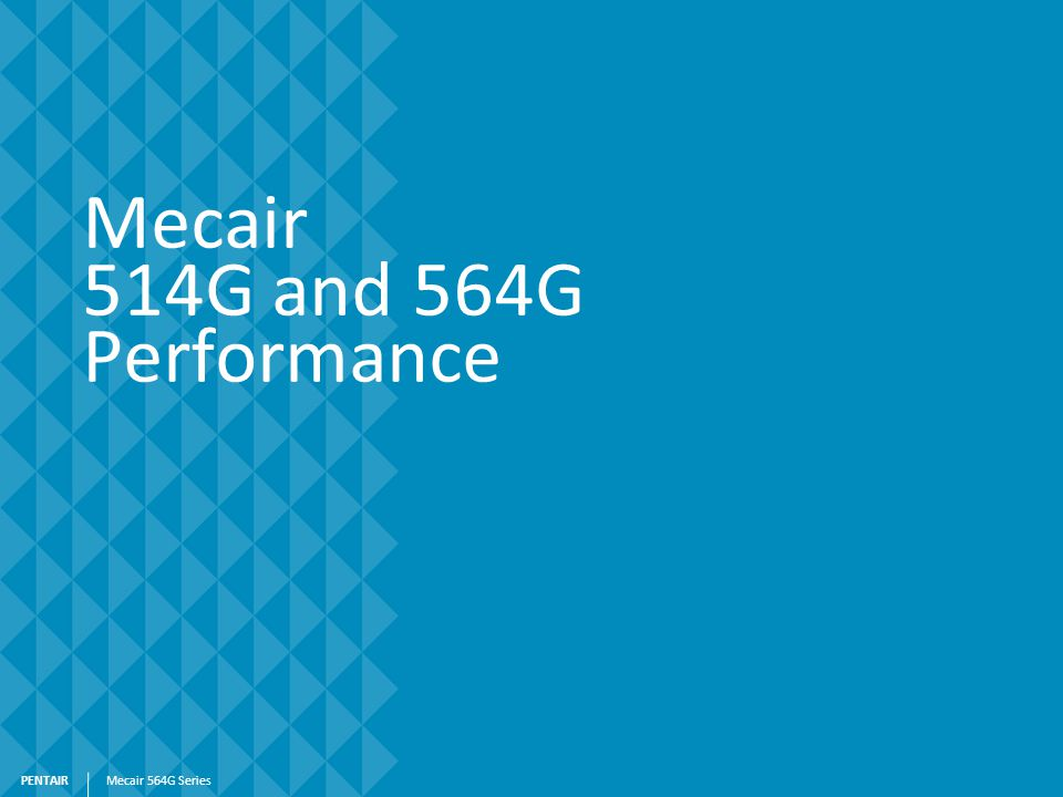 Mecair 514G and 564G Performance