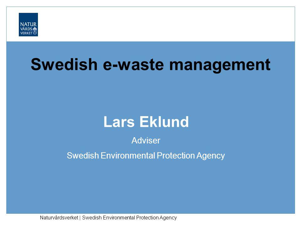Swedish e-waste management