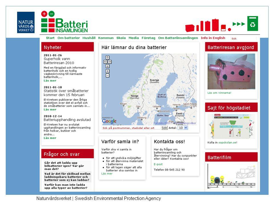 Naturvårdsverket | Swedish Environmental Protection Agency
