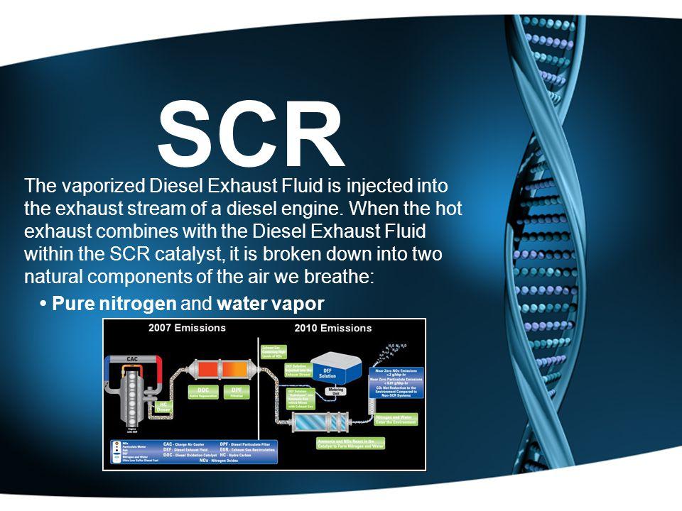 Tech report on diesel exhaust fluid Homework Sample