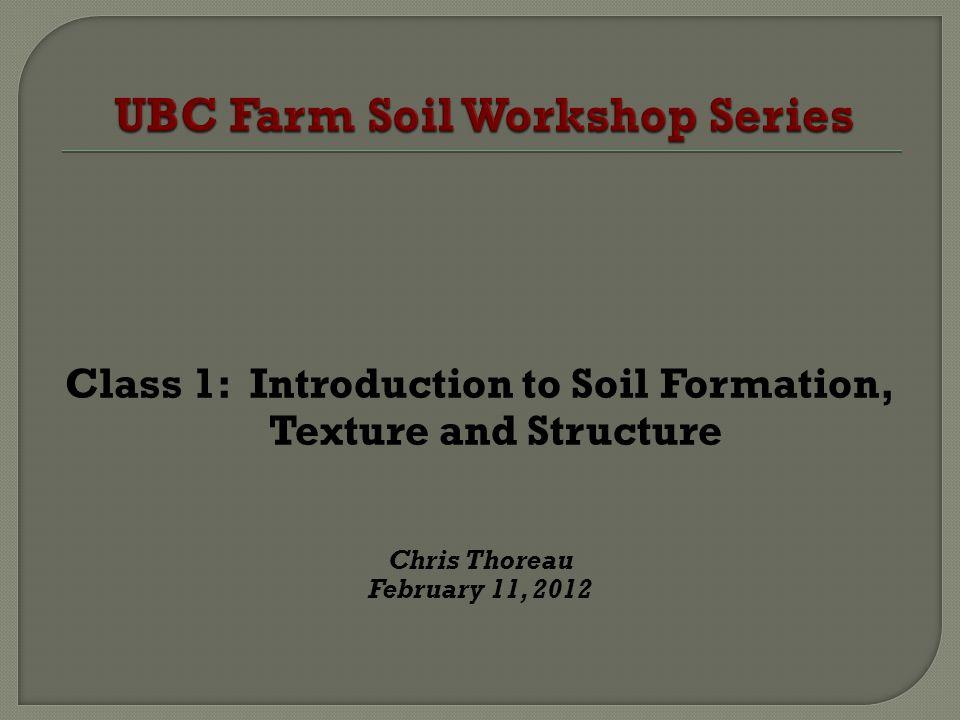 UBC Farm Soil Workshop Series