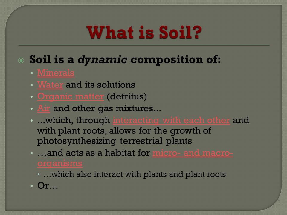 Ubc farm soil workshop series ppt video online download for What is the composition of soil