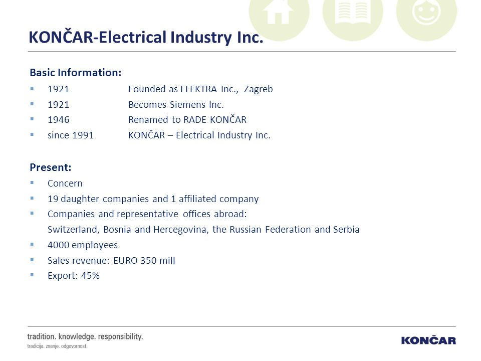 KONČAR-Electrical Industry Inc.
