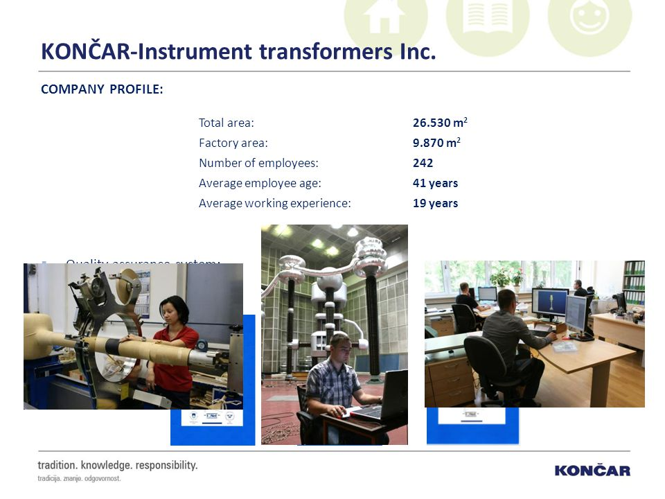 KONČAR-Instrument transformers Inc.