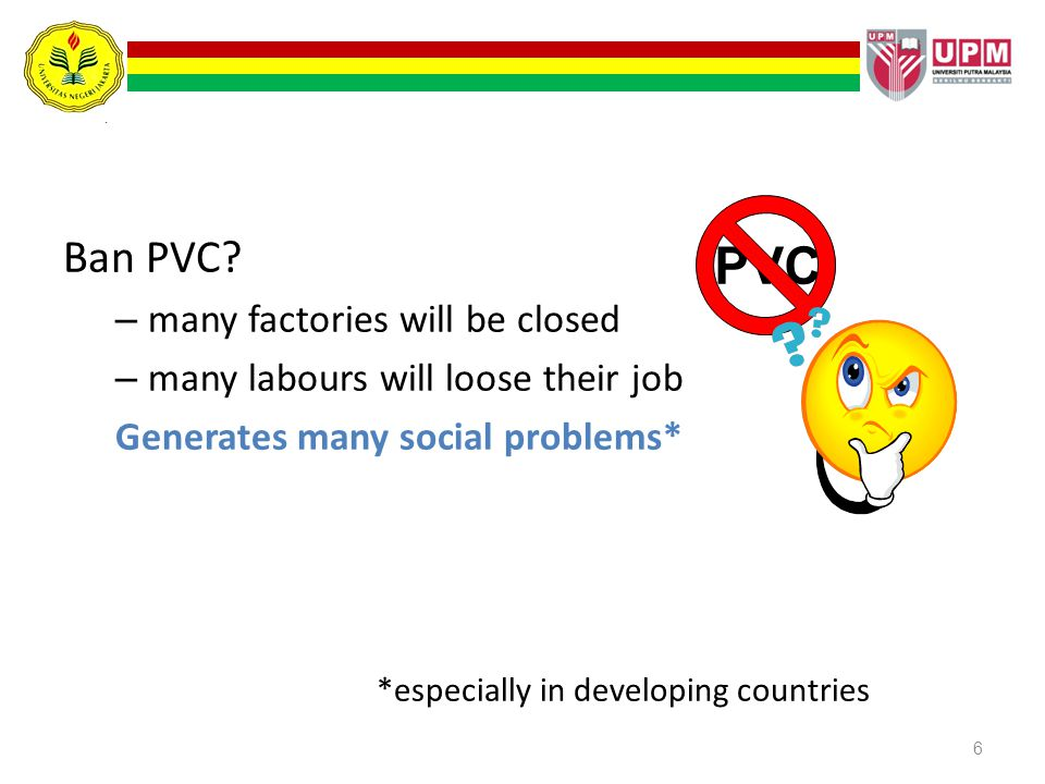 PVC Ban PVC many factories will be closed