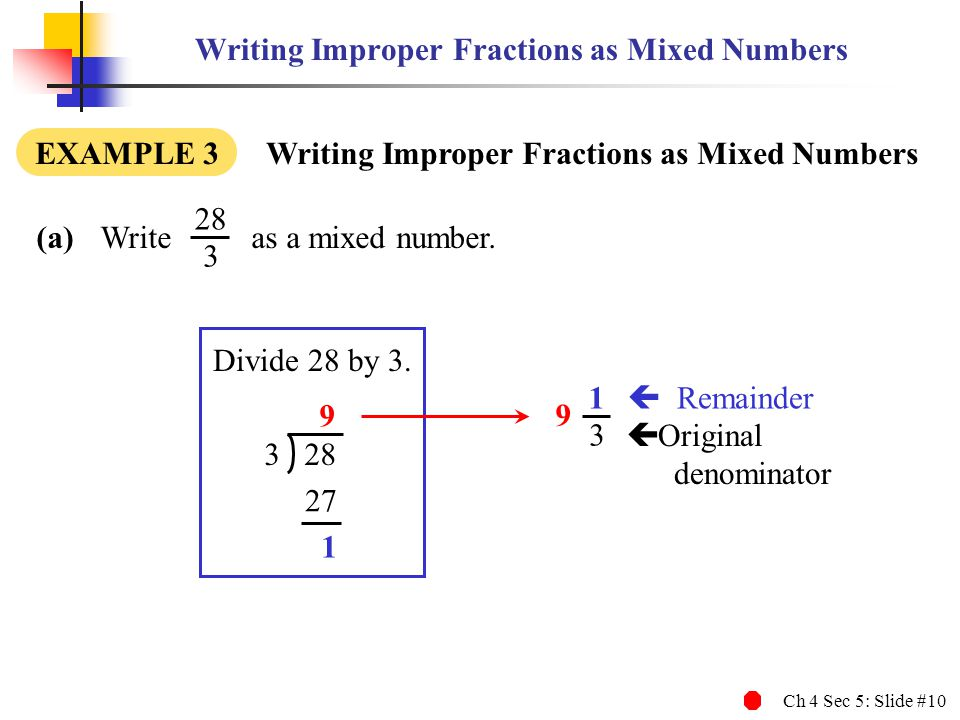 How To Write A Mixed Number On Mathway Mathway Fractions on