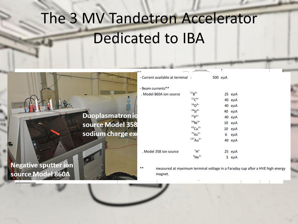 The 3 MV Tandetron Accelerator Dedicated to IBA
