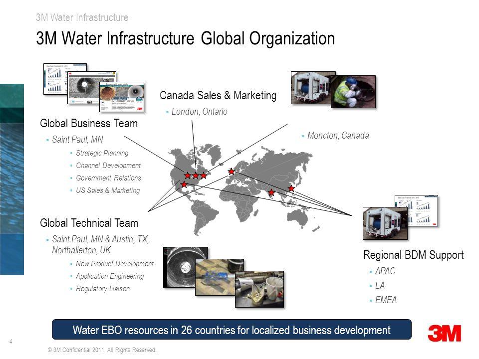 3M Water Infrastructure Global Organization