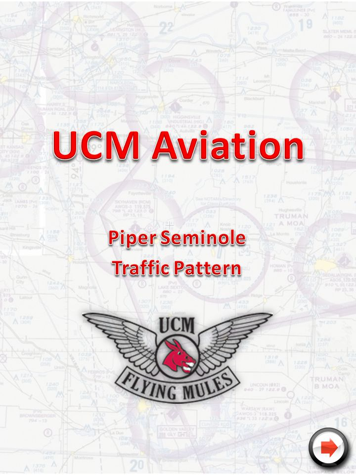 Piper Seminole Traffic Pattern
