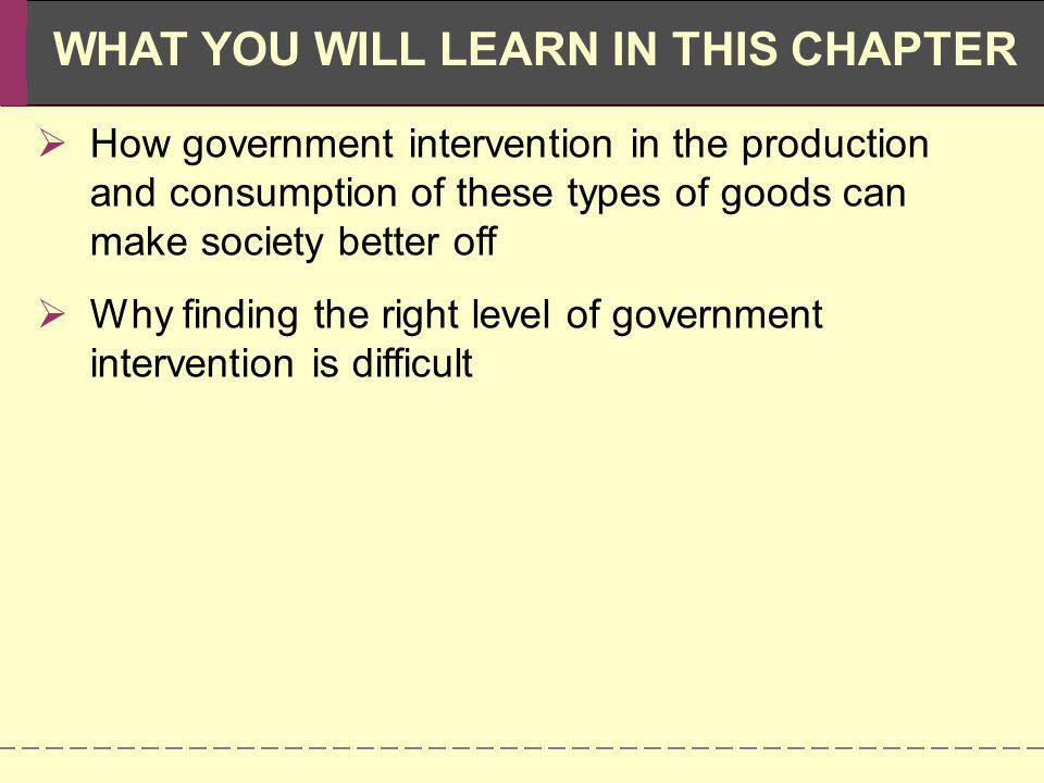Why finding the right level of government intervention is difficult