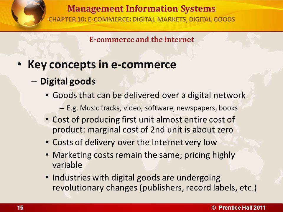 CHAPTER 10: E-COMMERCE: DIGITAL MARKETS, DIGITAL GOODS
