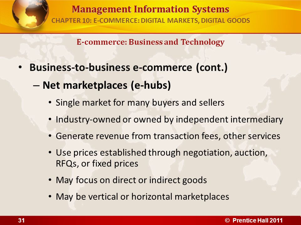 CHAPTER 10: E-COMMERCE: DIGITAL MARKETS, DIGITAL GOODS