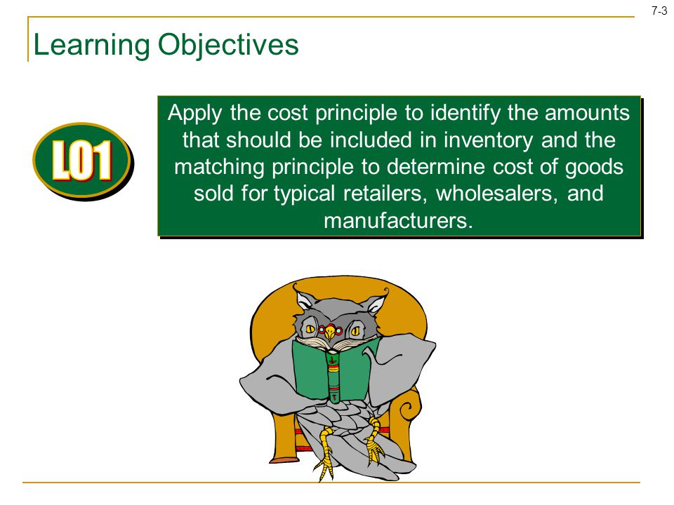 LO1 Learning Objectives