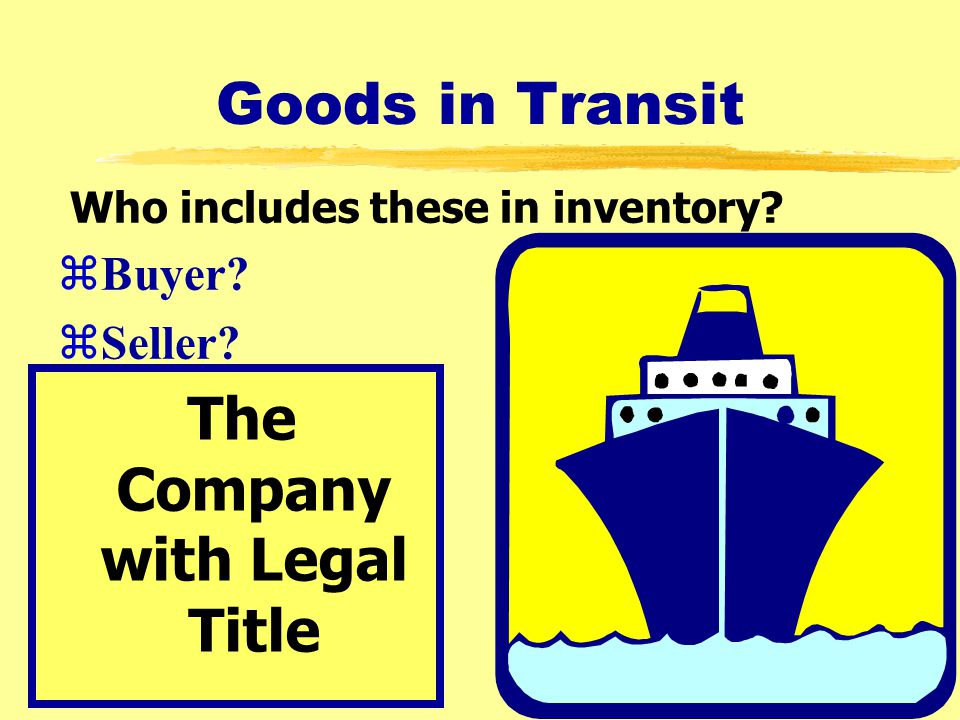 The Company with Legal Title