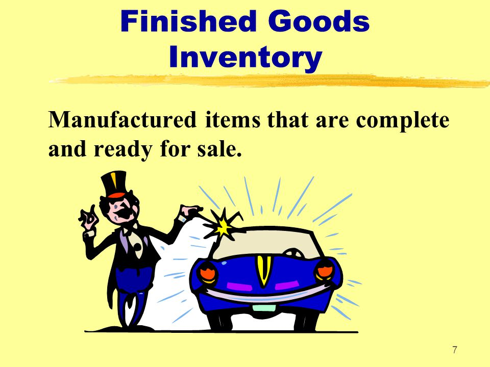 Finished Goods Inventory