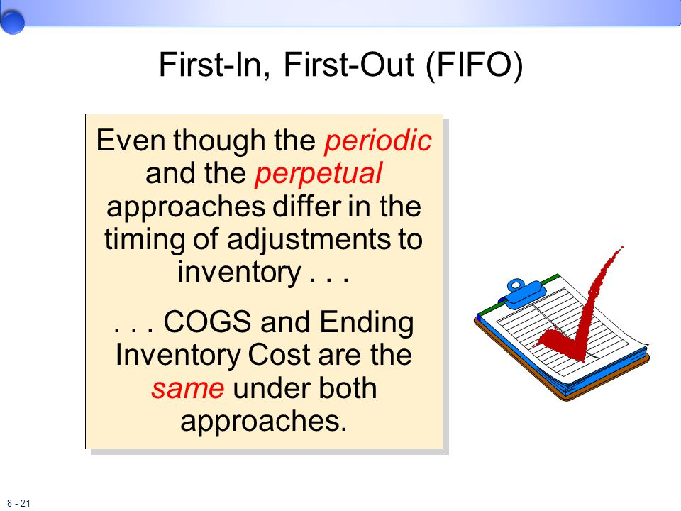 First-In, First-Out (FIFO)