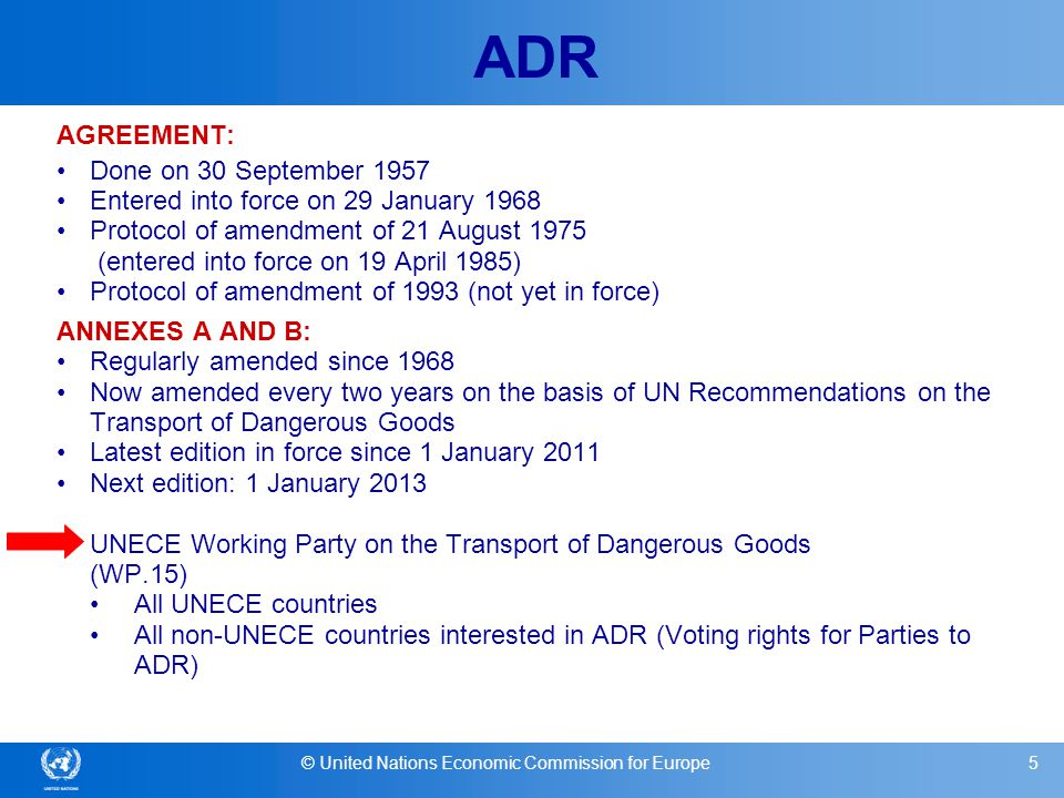 © United Nations Economic Commission for Europe