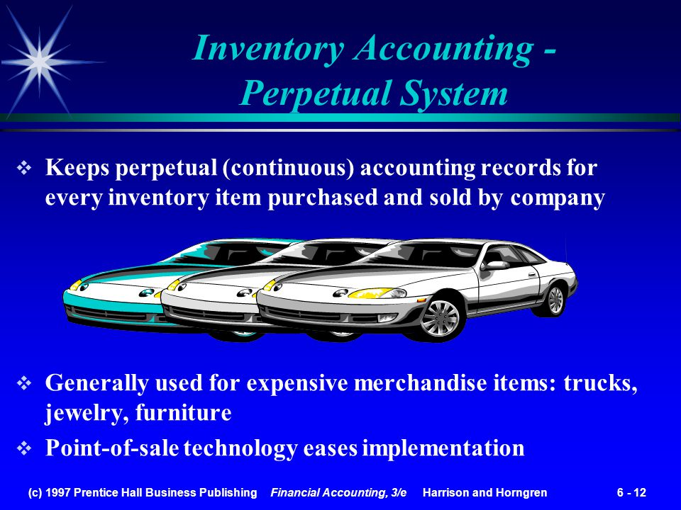 Inventory Accounting - Perpetual System
