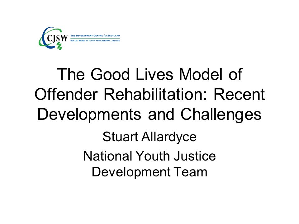 Stuart Allardyce National Youth Justice Development Team
