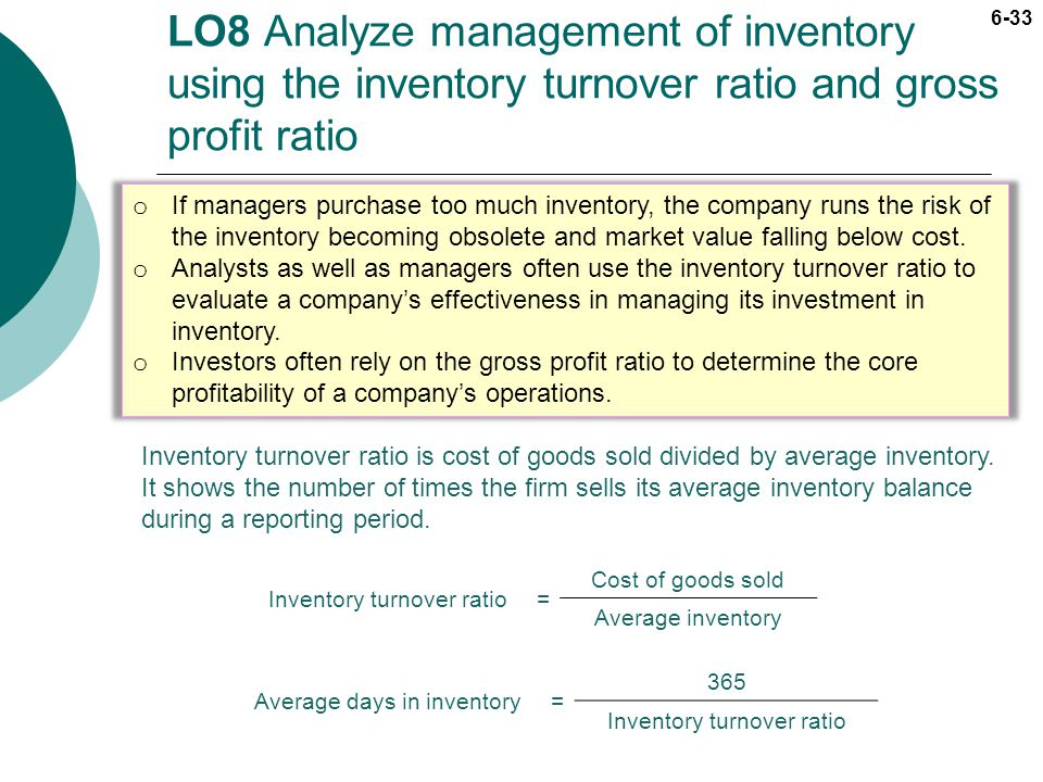 the inventory turnover ratio in oil industry 2018 market analysis & industry outlook: oil & gas receivables turnover ratio calculated as 365 divided by the receivables turnover inventory.
