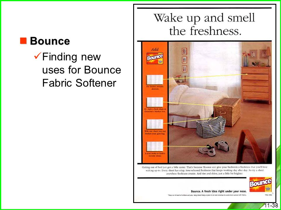 Bounce Finding new uses for Bounce Fabric Softener