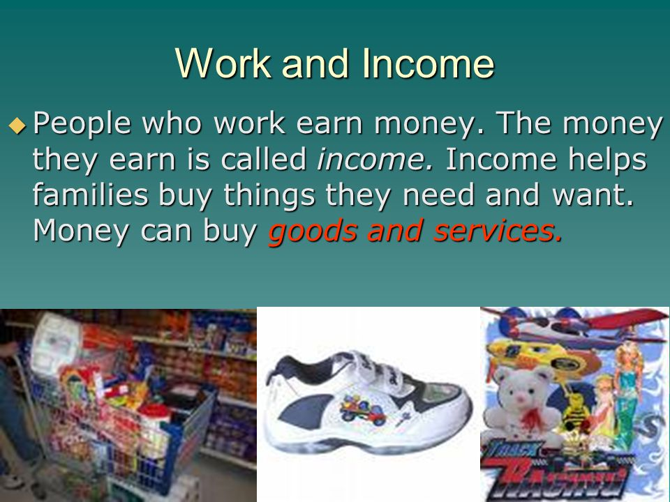 Work and Income