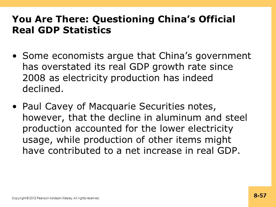 You Are There: Questioning China's Official Real GDP Statistics