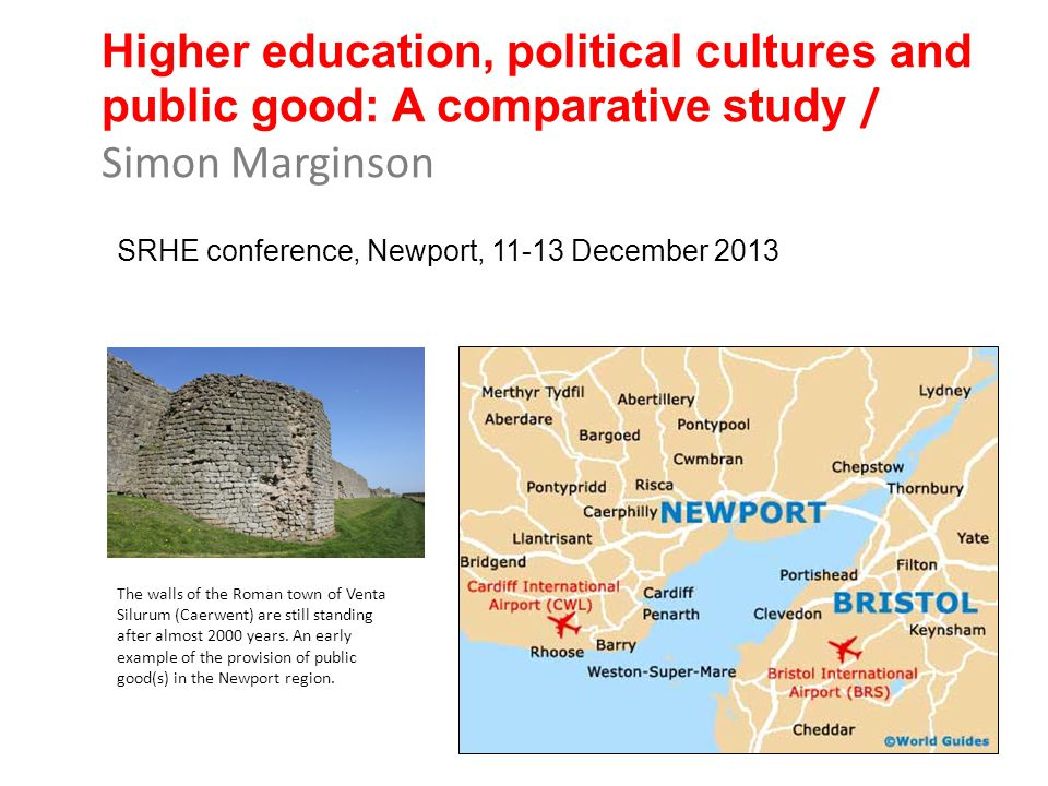 Higher education, political cultures and public good: A comparative study / Simon Marginson