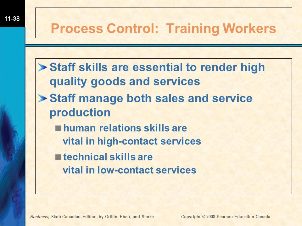 Process Control: Training Workers