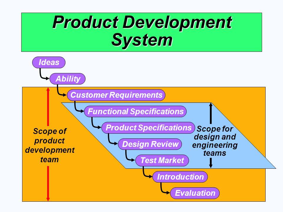 Product Development System
