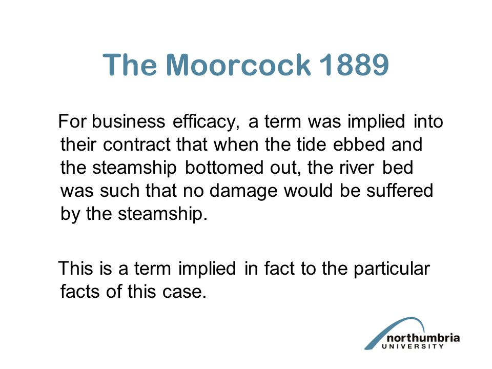 The Moorcock 1889
