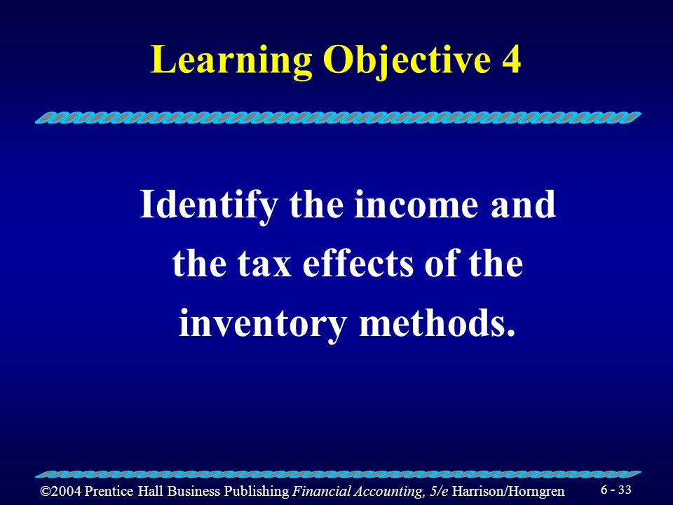 Identify the income and