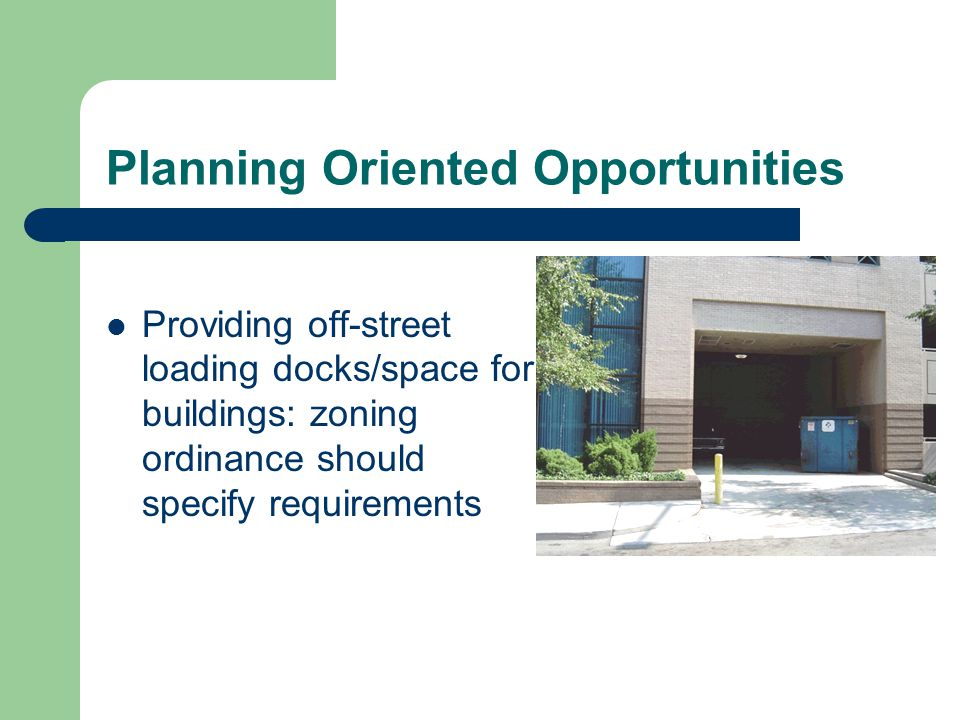 Planning Oriented Opportunities