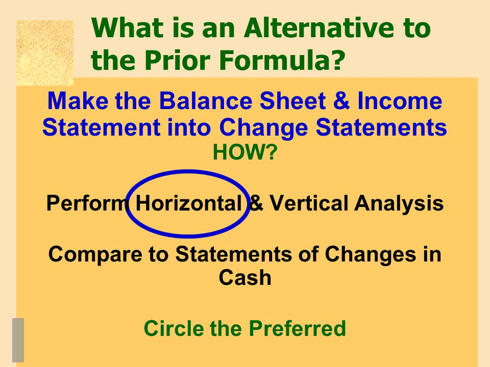 What is an Alternative to the Prior Formula