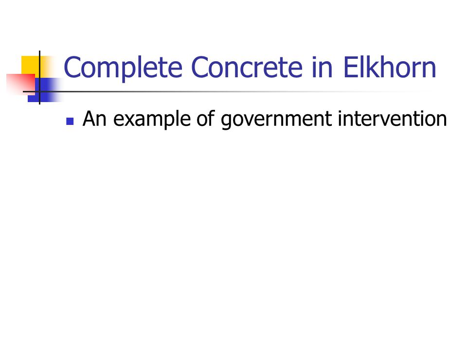 Complete Concrete in Elkhorn