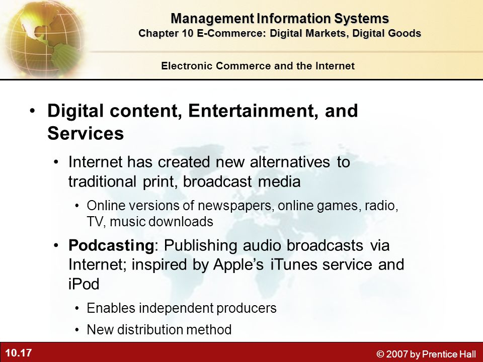 Digital content, Entertainment, and Services