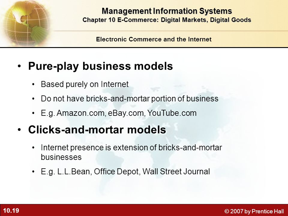 Pure-play business models