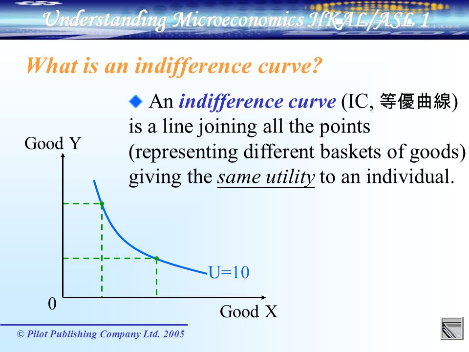 What is an indifference curve