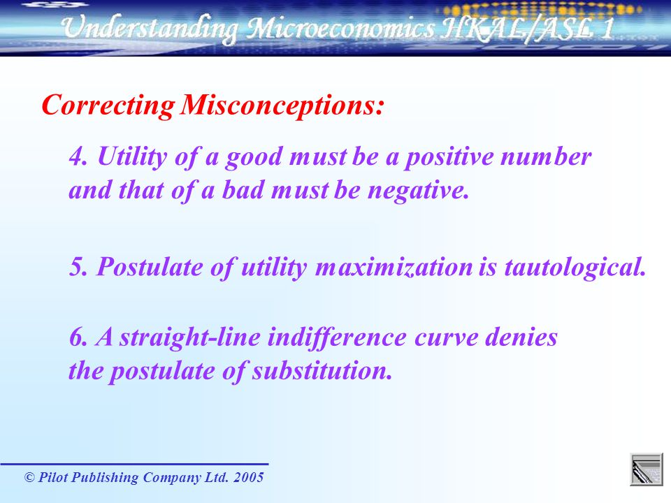 Correcting Misconceptions: