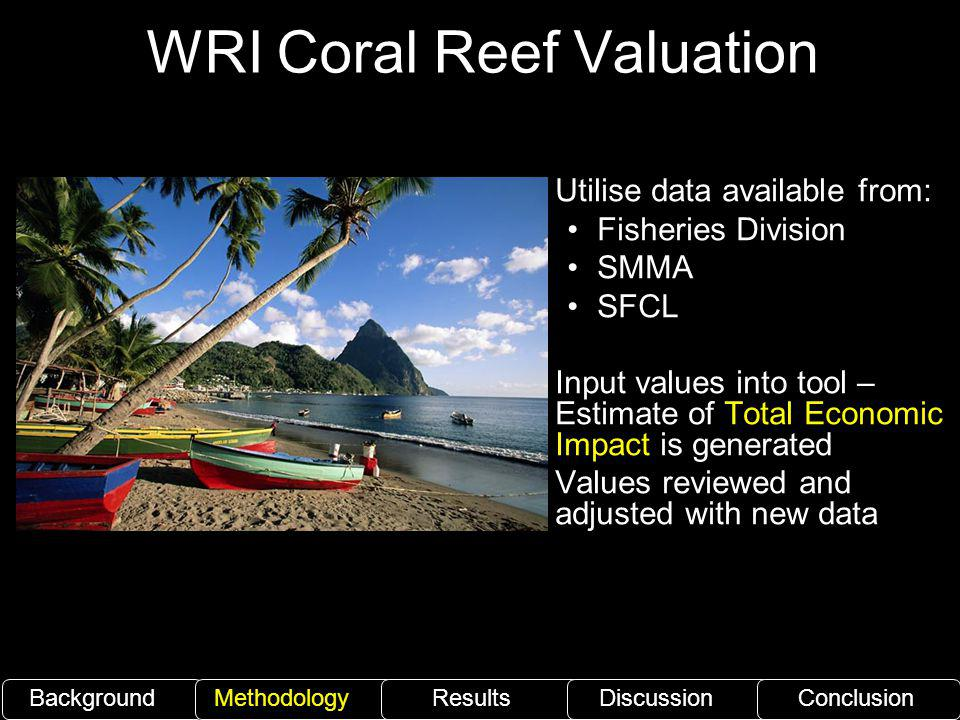 WRI Coral Reef Valuation