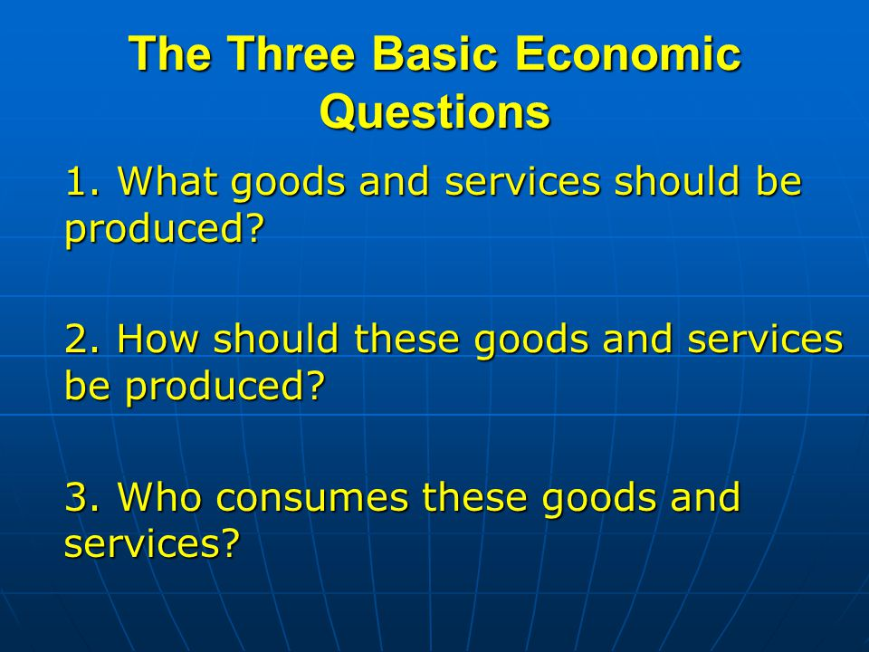 What are the three basic economic systems?