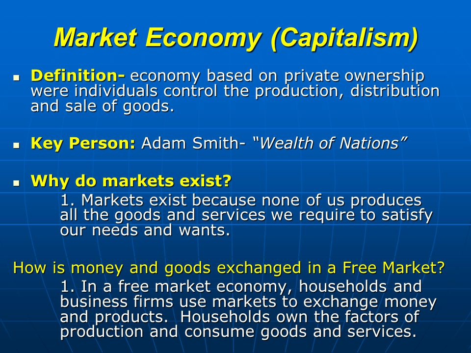 definition of capitalism