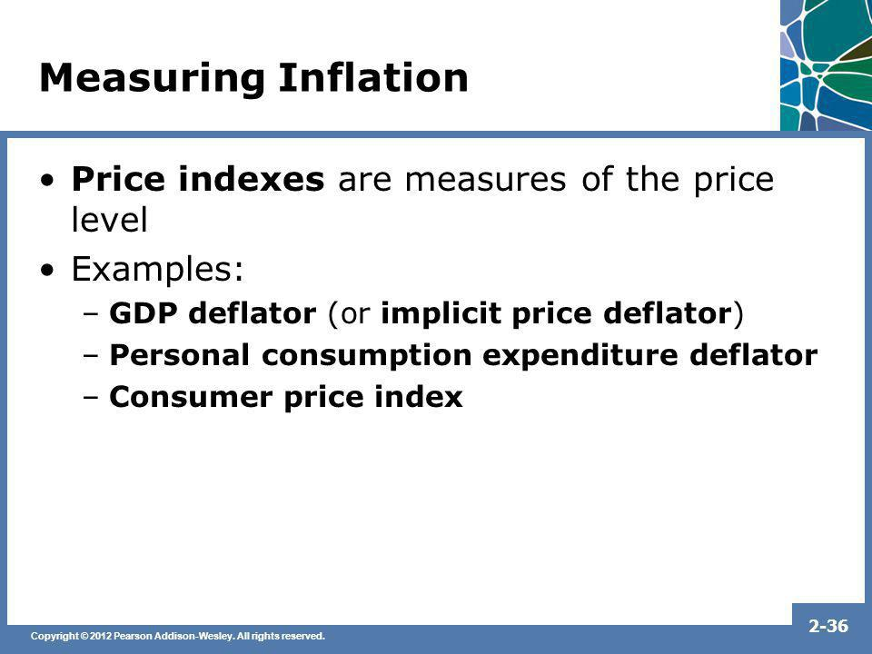 Measuring Inflation Price indexes are measures of the price level
